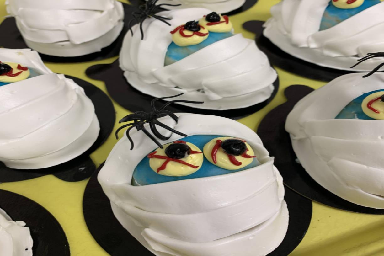 Halloween Mummy baked goods Chicago